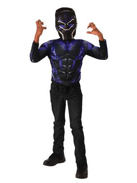 Marvel Black Panther Metallic Blue Shirt Set
