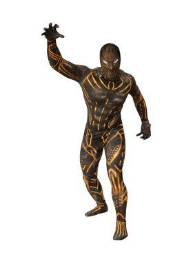 Adult Erik Killmonger Second Skin Suit - Black Panther