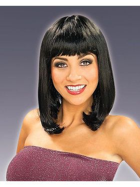 Black Peggy Sue Wig Adult