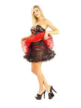 Black Petticoat Adult Plus