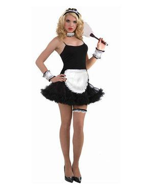 Black Petticoat Dress Adult