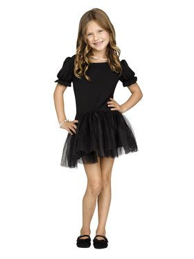 Black Pettidress Girl's Costume
