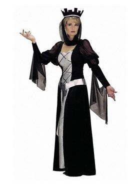 Black Queen Adult Costume