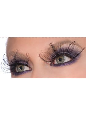 Black Spiked Eyelashes