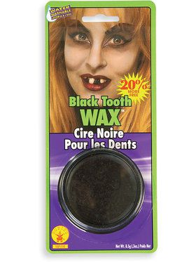 Missing Teeth Black Tooth Wax