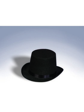 Satin Black Top Hat