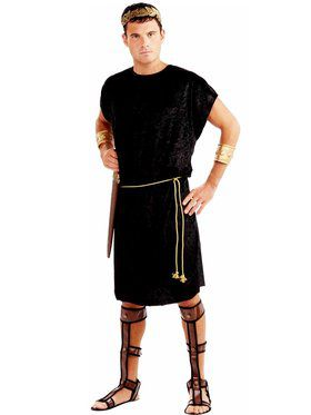 Black Tunic Mens Costume