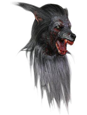 Black Wolf Full Mask