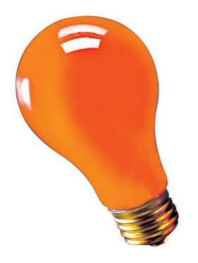 Blacklight Bulb Orange 75 Watt
