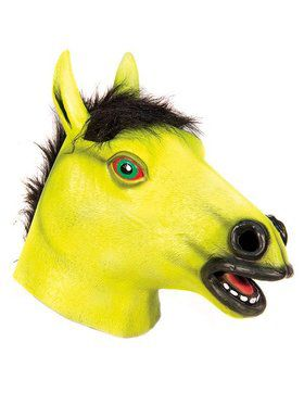 Blacklight Horse Mask for Adult