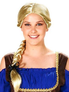 Blonde Evil Queen Adult Wig for Halloween