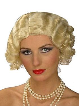 1920's Flapper Wig for Women