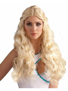 Blonde Goddess Wig Adult