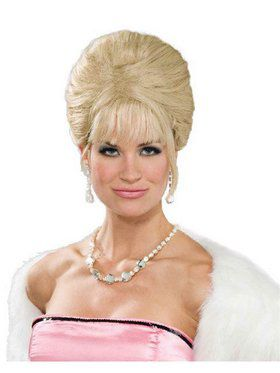 High Society Blonde Wig for Adults