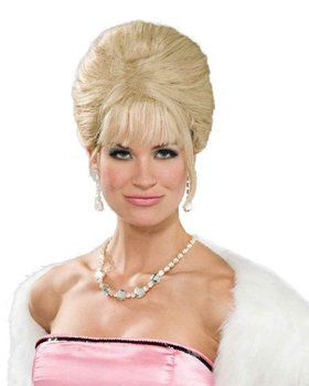 Blonde High Society Wig Adult