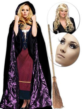 Blonde Sister Hocus Pocus Witch Movie Character Kit