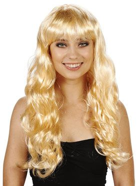 Blonde with Bangs Adult Wig