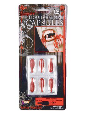 Blood Liquid Capsules