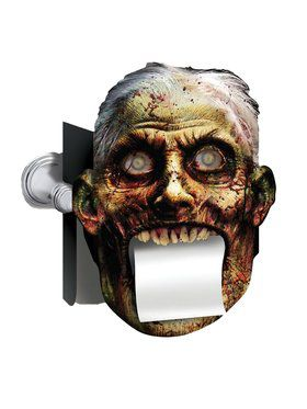 Bloody Bath Toilet Paper Cover Prop