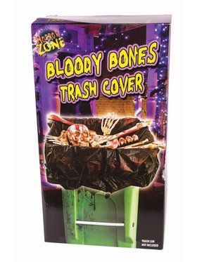 Bloody Bones Trash Cover Decoration