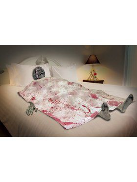 Bloody Death Bed Decoration Zombie