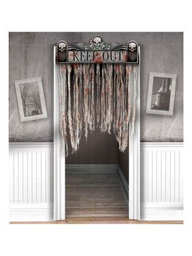 Bloody Fabric Curtain Door Decoration (Each)