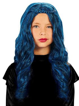 Blue Child Wig for Halloween