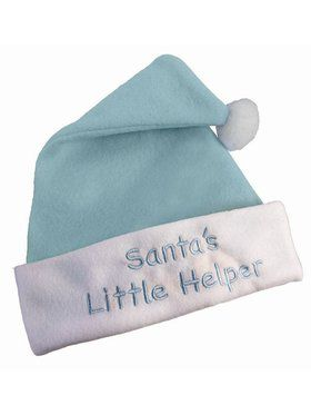 Blue Christmas Hat Accessory