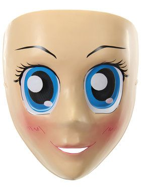Blue Eyes Anime Adult Mask