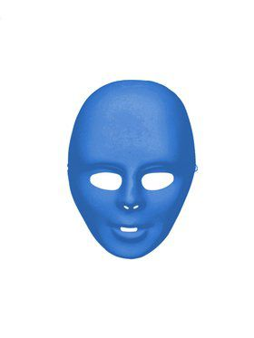 Blue Face Mask Adult