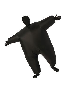 Black Inflatable Kids Costume