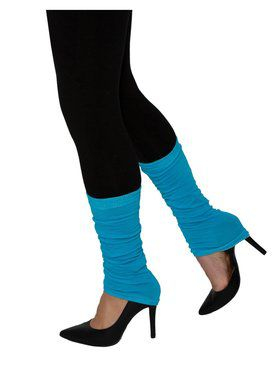 Adult Blue Leg Warmers