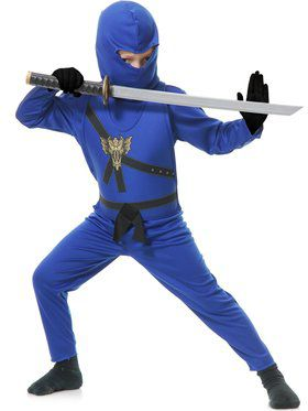 Blue Ninja Avenger Boy's Costume