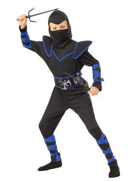 Blue Ninja Child Costume for Kids