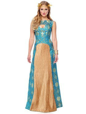 Blue Noble Lady Women's Costume