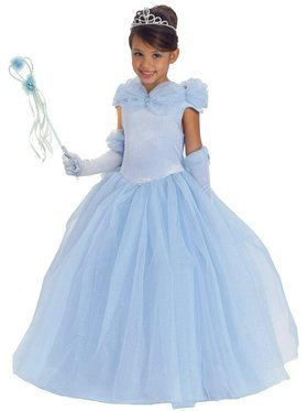 Blue Princess Cynthia Child Costume - Sale Sizes Only