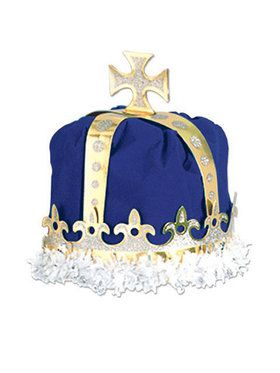 Blue Royal Kings Crown