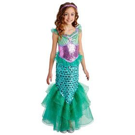 Blue Seas Mermaid Child Costume