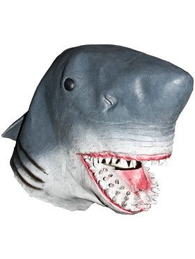 Blue Shark Attack Mask