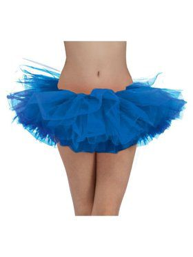 Blue Tulle Womens Tutu