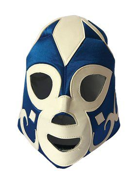 Blue Wrestling Mask for Adults
