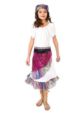 Boho Gypsy Costume For Children