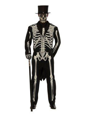 Bone Chillin' Mens Plus Size Costume