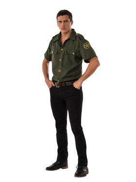 Border Patrol Men's Costume