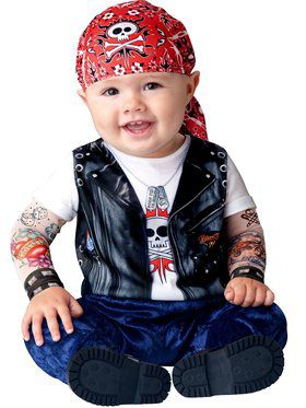 Born To Be Wild Toddler Costume