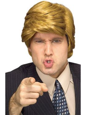 Donald Trump Blonde Wig