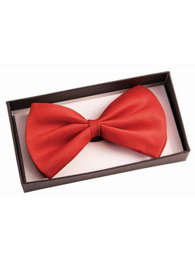 Red Bowtie Accessory