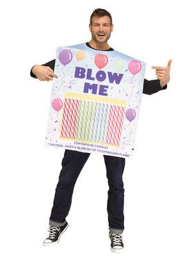 Adult Box of Candles Costume