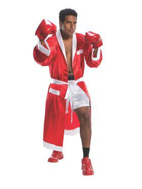Adult's Red Boxing Champ Costume