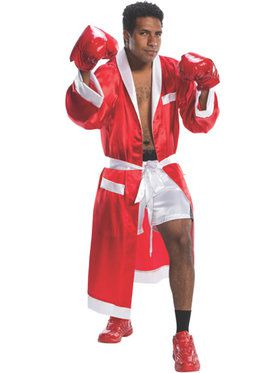 Boxing Great Robe and Trunk Costume for Adults